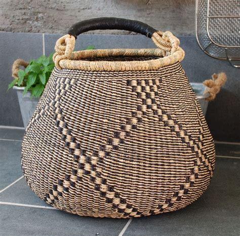 bolga basket  ghana ecologicsno vintage baskets