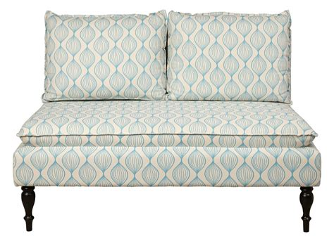 Blue Banquette by Upholstered Pattern Blue Banquette Bench From Pulaski Ds
