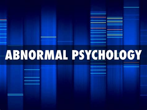 abnormalpsych personality abnormal psychology by ricardo enriquez