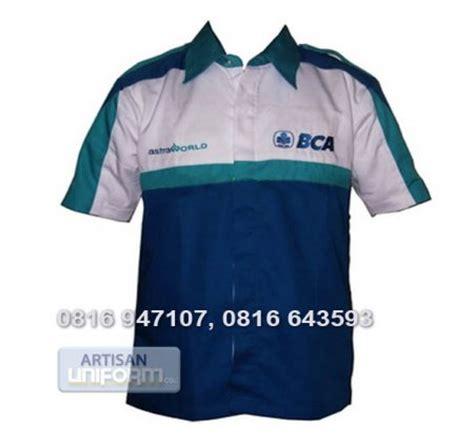 Kaos Banks konveksi seragam batik baju seragam bank bca