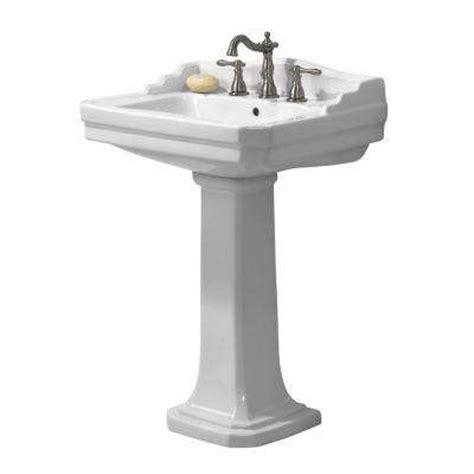 homedepot bathroom sinks pedestal sinks bathroom sinks the home depot