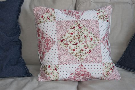 Patchwork Cushions - beginners patchwork cushions textile holidays