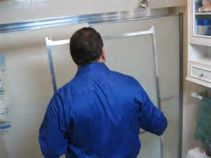 how to replace a shower door how to replace a shower door how tos diy