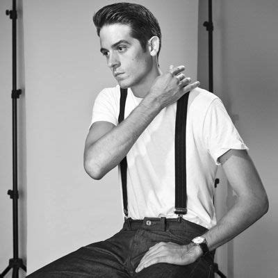 this is g eazy he is a rapper he dresses like he lives