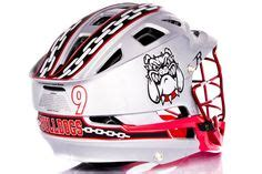lacrosse helmet wrap template lacrosse decal kits on