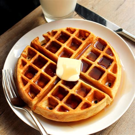 would you like more eggs bacon with that waffle ing