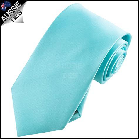 mens turquoise aqua blue 8 5cm tie necktie