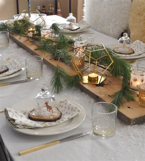 rustic dinner table settings rustic and snowy table setting ideas
