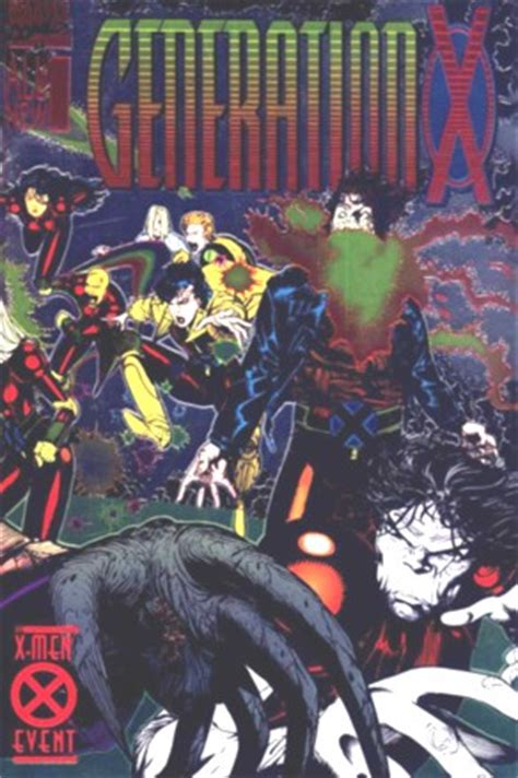 generation x vol 1 1 marvel comics database