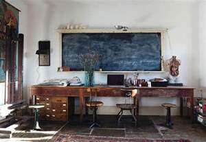Rustic Home Office Desk Cozy Workspaces Home Offices With A Rustic Touch