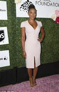 Mel Dres Pink mel b flaunts cleavage in tight pink dress at of