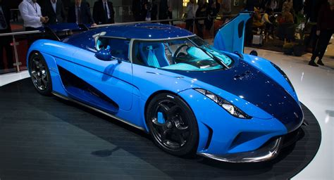 light blue koenigsegg tri tone blue koenigsegg regera is a chin scratcher