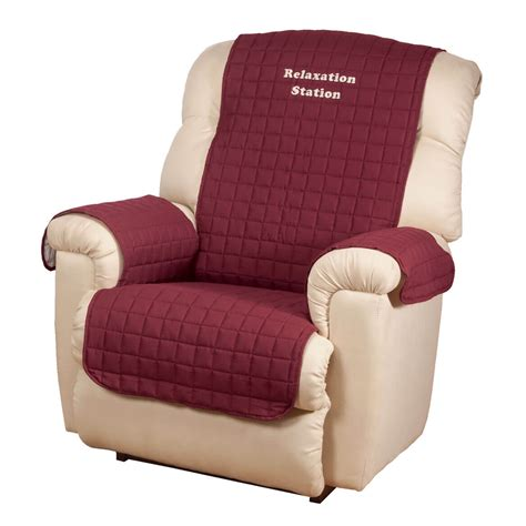 oakridge comforts personalized warm color recliner cover by oakridge