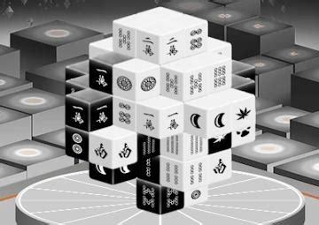 gioco mahjong bianco  nero
