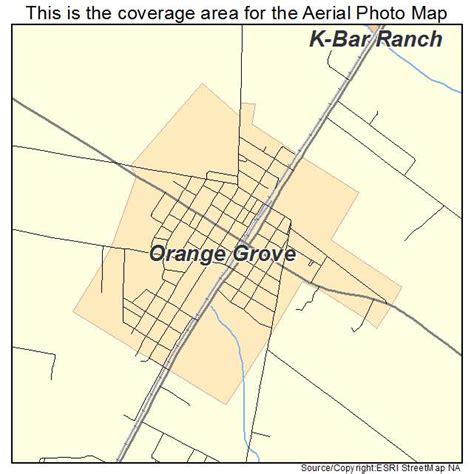 grove texas map aerial photography map of orange grove tx texas