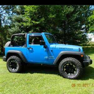 jeep wrangler rubicon in cosmos blue yes jeeps
