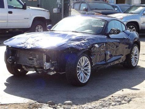 automobile air conditioning repair 2009 bmw z4 m roadster head up display find used 2009 bmw z4 sdrive35i roadster damaged salvage runs only 26k miles nice unit in