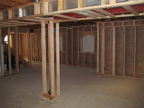ideas for finishing concrete basement walls finished