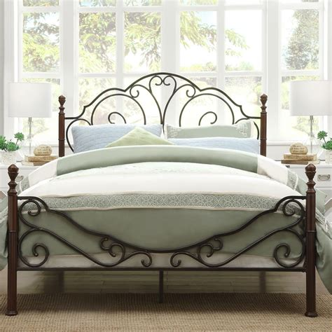 king bed metal frame bed king metal bed frame headboard footboard home interior design