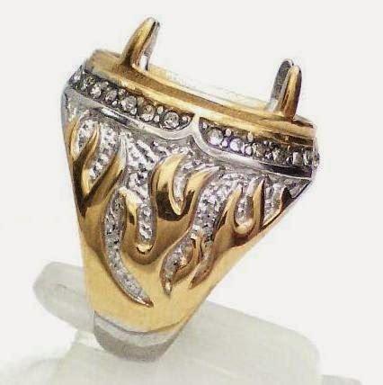 Ring Akik Emban Titanium Ikat Cincin Kualitas No 1 Unq09 jual ring cincin murah barang di jamin oke hub
