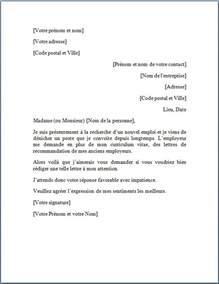 Exemple De Lettre De Motivation Sur Recommandation Modele Lettre De Recommandation D Un Maitre De Stage Document