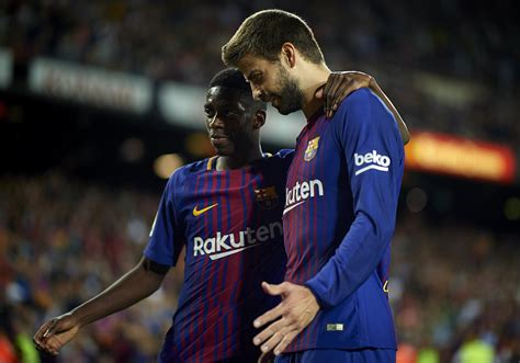 ousmane dembélé goals for barcelona ousmane demb 233 l 233 shines on debut as barcelona thrash