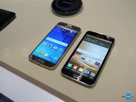 Samsung Galaxy S6 Vs S5 samsung galaxy s6 vs galaxy s5 should you upgrade
