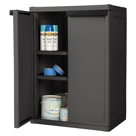 sterilite 2 shelf storage cabinet manicinthecity