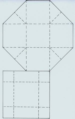 template hexagon box with lid quotes