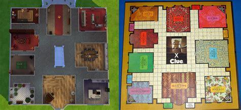 Mansion Floor Plan les sims 4 le manoir de cluedo game guide