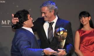 jose mourinho simply the best diego maradona hails jose mourinho as simply the best