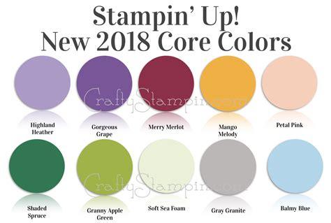 new colors new stin up core colors linda cullen crafty stin