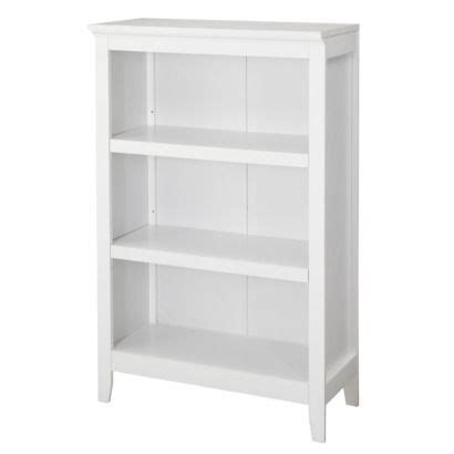 target bookcases white threshold carson 3 shelf bookcase rooms