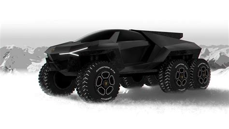 lamborghini urus 6x6 lamborghini rat 243 n is what a suv taken to another