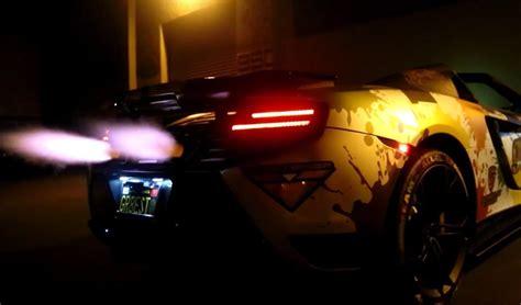 mustang shooting brakemustang shooting flames modified mclaren can t stop shooting flames