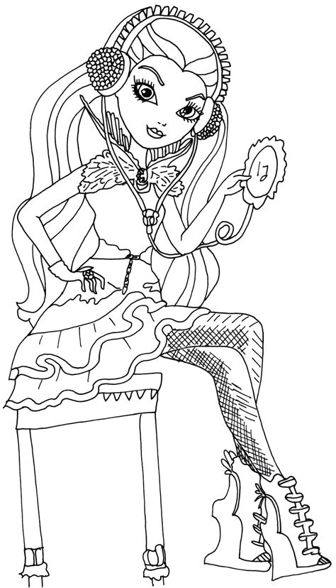 coloring pages ever after high raven queen free printable ever after high coloring pages december 2013