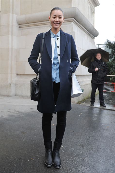 Style Liu by Model Style Liu Wen S Relaxed Androgyny The