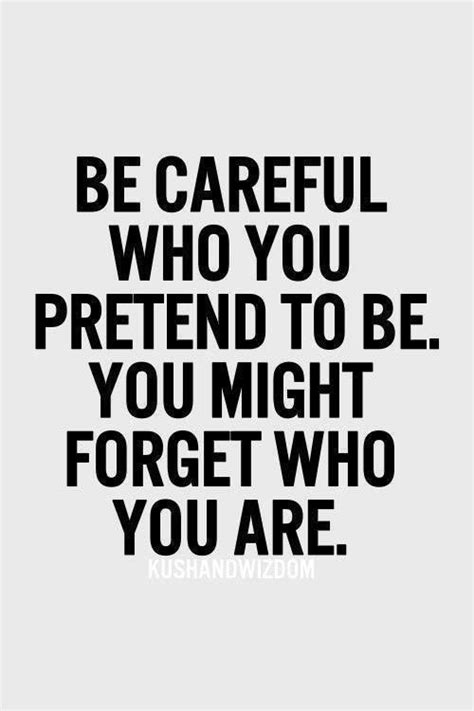 mind set go you re bigger than you books be careful who you pretend to be you might forget