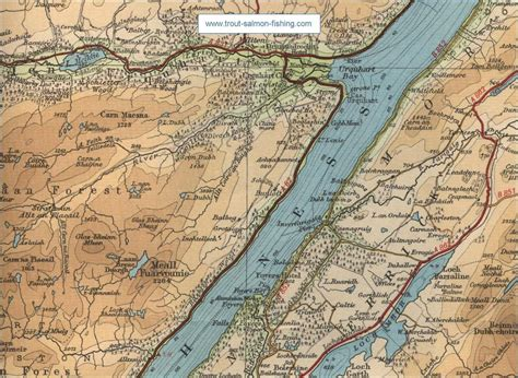 loch ness map image gallery loch ness map