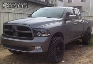 2009 Dodge Ram 1500 Lifted Wheel Offset 2009 Dodge Ram 1500 Aggressive 1 Outside