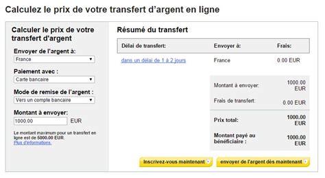 Plafond Western Union by Les Transferts D Argent 224 L 233 Tranger Toutes Les Solutions
