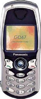 Battery Baterai Panasonic Gd68 Gd67 Bagus panasonic gd67 mobile phone mobiset ru