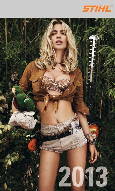Rancher Logging stihl chainsaw girls google search stihl pinterest
