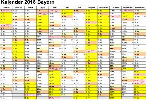 Kalender Juni 2018 Zum Ausdrucken Kalender 2018 Bayern Ausdrucken Ferien Feiertage Excel