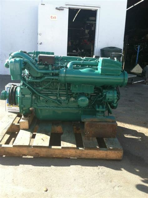 find volvo penta refurbished adb complete bobtail marine diesel engine io ready motorcycle