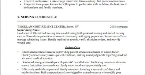 Triage Cover Letter by Triage Resume Sle Http Www Resumecareer Info Triage Resume Sle 12