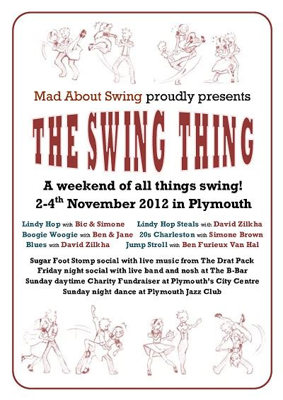 Mad About Swing The Swing Thing 2012