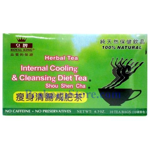 Ahmad Tea Detox Cleanse Reviews by Royal King Cooling And Cleansing Diet Herbal Tea 20 Teabags