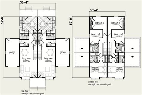 duplex blueprints modular homes coolidge duplex blueprint