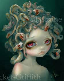 pale medusa strangeling art jasmine becket griffith